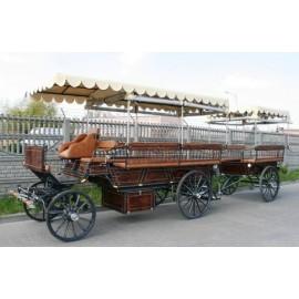 Chariot et remorque bâches