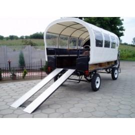 Chariot bâche 12 à 20 places